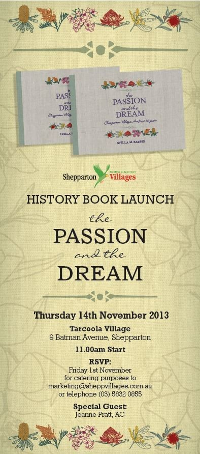 book launch invite flyer