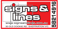Signs and Lines